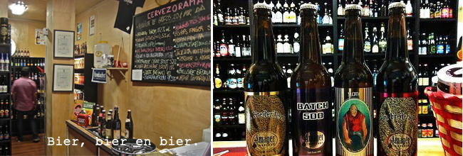 Cervezaroma bier winkel Madrid
